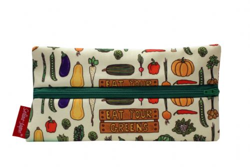 Selina-Jayne Garden Vegatables Limited Edition Designer Pencil Case